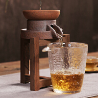 创意茶漏茶滤 功夫茶具配件泡茶隔茶叶过滤网 漏斗滤茶器虑架