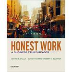 【预订】Honest Work: A Business Ethics Reader 9780190497682