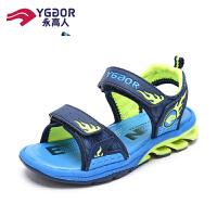 【限时抢购价81元】永高人男童凉鞋2019新款韩版夏季中大童气垫软底沙滩鞋