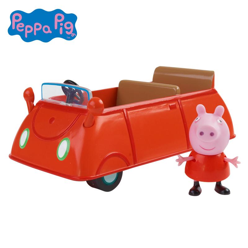 Peppa Pig 小猪佩奇男女孩儿童玩具过家家角色扮演开篷车套装小猪佩奇 过家家玩具 开篷车套装