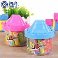 智高3D彩泥24色套装 无毒环保橡皮泥益智DIY粘土城堡玩具正品
