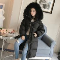 【秋冬新品】高端专柜品牌很仙的好看的反季宽松加厚外套女冬2019学生棉袄潮韩版中长新款bf棉衣 2X