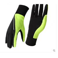 时尚保暖骑行手套防晒可触屏防滑耐磨跑步健身男女登山开车全指手套薄