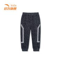 【3折价53.7】安踏童装男小童针织长裤儿童运动休闲裤子35849746