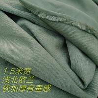 论斤沙发布料抱枕桌布座垫加厚面料diy大块零布头y 浅蓝色 1件=6米长
