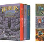 英文原版 Warriors Manga 3-Book Full-Color Box Set 猫武士全彩漫画绘本读物小说