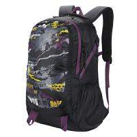 新款户外双肩包涂鸦旅行运动休闲男女通用背包大容量防水学生背包