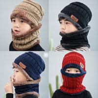 男童帽子4冬天5保暖儿童6围巾7护耳男孩冬帽8周岁儿童学生保暖帽