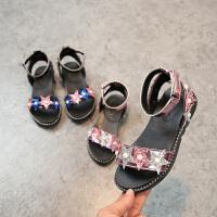 女童凉鞋夏季女孩公主鞋中大童儿童鞋子学生沙滩童鞋