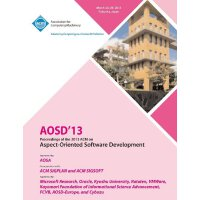 【预订】Aosd 13 Proceedings of the 2013 ACM on Aspect-Oriented