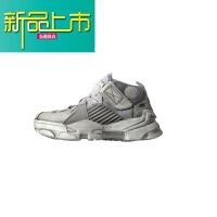 新品上市汪 运动鞋男女秋季新款韩国cc复古做旧小脏鞋增高运动跑步鞋 白色