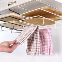 砧板架双层免打孔壁挂菜板架子案板架抹布架厨房毛巾架置物架