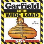 [现货]GARFIELD CAUTION: WIDE LOAD