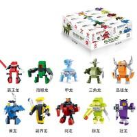 星钻积木兼容乐高儿童军事益智力拼装机器人5-6-8-10岁启蒙积木玩具