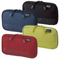 LIHIT LAB.学生笔袋便携式文具盒收纳包A-7687商务收纳袋