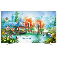 55寸液晶电视机罩50 60 65 75防尘罩曲面台挂式布艺T