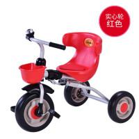 儿童三轮车脚踏车宝宝大号手推车折叠童车1-3岁小孩自行车YW14
