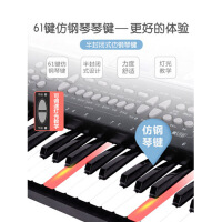 音乐玩具 电子琴儿童61键入门初学者01-3-6岁男女孩小钢琴宝宝