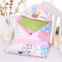 秋冬款抱毯宝宝包巾初生用品 婴儿抱被包被夏季棉薄款春