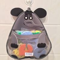 宝宝高低床收纳挂袋 储物袋收纳挂袋网袋婴可爱洗澡用品床头挂袋置物袋 均码