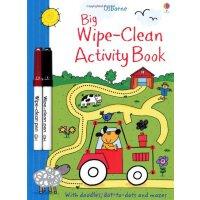 Big Wipe Clean Activity Book英文原版进口涂写擦擦活动书(内附擦擦笔)