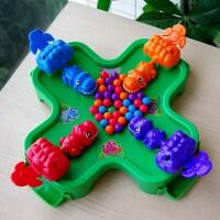 小乖蛋恐龙游戏贪吃青蛙吃豆玩具益智力儿童桌面游戏亲子互动桌游