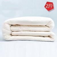 棉花被芯儿童幼儿园小被子薄棉被春秋冬被s 2斤棉花被