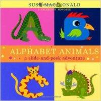 [现货]英文原版Alphabet Animals通过动物认识字母启蒙翻翻立体书