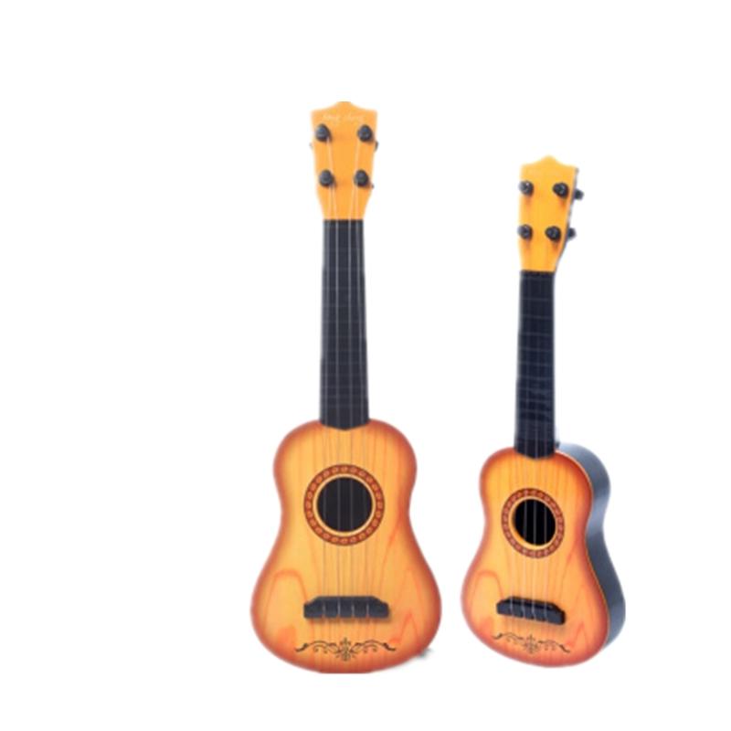 3-4-5-8岁小学生玩具吉他初学者尤克里里乐器男女儿童小吉他 多买优惠