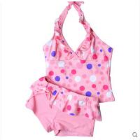 女童时尚可爱泳衣套装 新款泳衣 金格尔泳装 儿童分体两件套