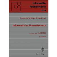 【预订】Informatik Im Umweltschutz: 4. Symposium Karlsruhe, 6.-
