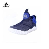 阿迪童鞋轻便舒适跑步鞋男童女童运动鞋B27994 学院藏青蓝