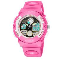 儿童手表 男孩运动学 生手表夜光防水运动手表 橙色