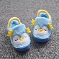 儿童棉拖鞋宝宝女1-3岁可爱卡通居家男孩室内毛毛软防滑小孩棉鞋