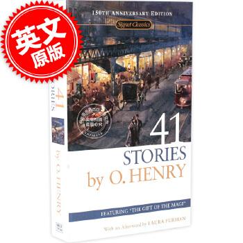 现货 欧-亨利短篇小说集选 41 Stories 41 故事 英文原版书 小说