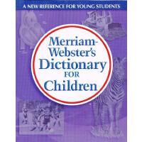 M-W Dictionary for Children 韦氏儿童字典 (适合8-11岁)ISBN 9780877797