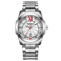 全自动钢带罗马数字男手表时尚日历防水镶钻皮带手表学生表