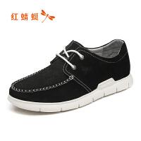 红蜻蜓男鞋休闲皮鞋秋冬休闲鞋子男WTA8228