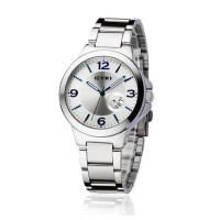时尚钢带情侣手表对表一对价 韩版学生表 防水日历女表男表