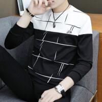 2019新款秋季男士保暖内衣男上衣单件薄款修身青年学生韩版潮流秋衣可外穿