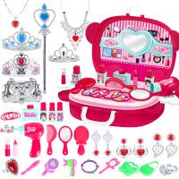 儿童化妆品口红小女童梳妆台公主彩妆过家家饰品套装女孩玩具