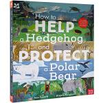英文原版绘本 Nosy Crow National Trust:How to Help a Hedgehog and