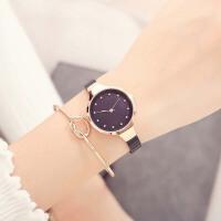 女士手链表韩版简约时尚潮流钢带表防水石英链条手表