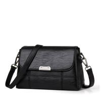 中年女包妈妈包2018新款包包女士简约百搭大容量单肩包斜挎包小包