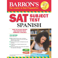 Barron's SAT Subject Test Spanish, 4th Edition: with MP3 CD