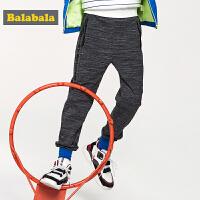巴拉巴拉童装儿童裤子男童长裤2019新款春季中大童休闲裤男运动裤