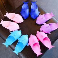 儿童拖鞋 男女童可爱小海豚凉拖鞋居家拖2020夏新款小孩中大童沙滩鞋子