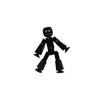 吸盘小人 机器人木偶人摄影动画小人减压儿童玩具生日圣诞节礼物品 均码