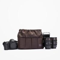时尚包 单反摄影相机内胆包 防震便携厚袋 褐色