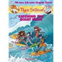【预订】Thea Stilton Graphic Novels #4 Catching the Giant Wave